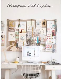 I like this goo. Maybe something similar to this for that cork board thing?