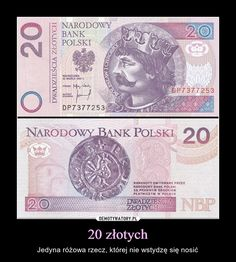 Poland 2012 Almost Uncirculated 20 Polish Zloty Banknote Paper Money Bill P-NEW