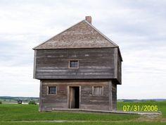 Fort Edward Blockhouse, Windsor, Nova Scotia, 1750.