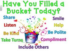 have you filled a bucket today pdf - Google Search