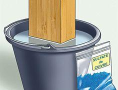 Conseils pratiques bricolage sur Astuce protéger des poutres de l'humidité (Trucs et astuces)