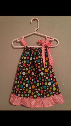 Pillow Case Dress  Size: 6 months  by Sewn4ACause on Etsy