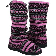 New England Patriots Women's Jacquard Knit Boots - Pink/Black. They look cozy! Vancouver Canucks, Mlb, Jacksonville Jaguars, Cincinnati Bengals, Pittsburgh Steelers, Indianapolis Colts, Philadelphia Phillies, Dallas Cowboys, Denver Broncos