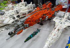 Amazing LEGO Spaceships