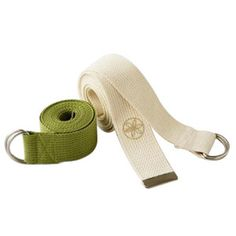 Makes difficult yoga poses more achievable! Gaiam's Organic Cotton Straps are made from 100% organic cotton and measure out to 6 feet. Our Yoga Strap makes difficult poses more accessible to everyone