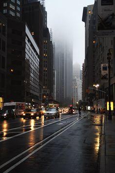 Even in the rain & fog, she's beautiful