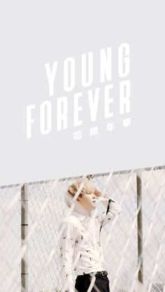 BTS - FOREVER YOUNG WALLPAPER (Suga)