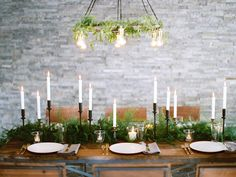 winter ❧ Tablescapes ❧