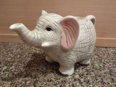 Vintage Henriksen Imports Baby Elephant Tea Pot, Excellent Condition, So Cute!