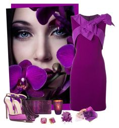 something purple by art-gives-me-life on Polyvore featuring polyvore, fashion, style, Boutique Moschino, Chloe Gosselin, Gucci, Johnny Loves Rosie, Kate Spade, Bobbi Brown Cosmetics, Reception, D'Argent, clothing, contestentry and artofadifferentcolor