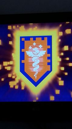 LEGO Nexo Knights shield *new exclusive* from TV show