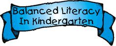 Balanced literacy in a kindergarten classroom...can't wait to be back in the saddle with balanced literacy!!