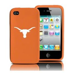 Texas Longhorns iPhone Case.  Hopefully this will be in my future! (The school and an iPhone!)