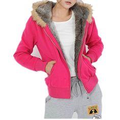 Muqi Women's Winter Coat,sweatshirt Fur Collar Coat Jacket ** Tried it! Love it! Click the image. : Plus size coats