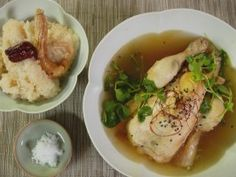 """Chicken Ginseng Soup Ginseng has numerous health benefits and this soup is the """"Korean penicillin."""""""