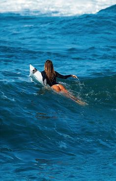 exploretheworldwithextremesports:  Women Surfer - It Is So Beautiful Come And Follow US