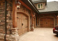 Love the stone/doors