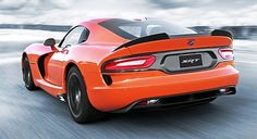 Orange 2014 Viper TA (Time Attack) street legal track car. Only 33 built for 2014.