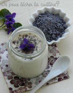 yaourt au sucre de violette