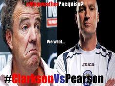 #ClarksonVsPearson