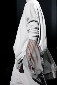 fashionloveskarl: Details at Haider Ackermann SS 2015
