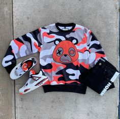 No photo description available. Cute Tomboy Outfits, Dope Outfits For Guys, Swag Outfits Men, Stylish Mens Outfits, Nike Outfits, Cool Outfits, Casual Outfits, Hype Clothing, Mens Clothing Styles