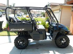 2008 Polaris RANGER 700 Side-By-Side , Blue/ Black, 250 hours for sale in Fontana, CA