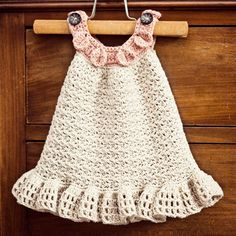 New pattern - Halter Ruffle dress! For the moment available only on Craftsy, from 1st of June also on Etsy and Ravelry!