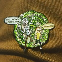 Omg guys, hes here!! Ill be shipping preorders over the next 2 days (my label printer is out ) but hes available and over at my shop for the normal price now! This is a beast many thanks to @nspmerchandise, the quailty is god like  #pin #enamelpin #lapelpin #softenamel #pinsforsale #pinsfortrade #pinstagram #pinterest #pingame #pingamestrong #patch #patchgame #rickandmorty #glipglop #mrmeseeks  @jkry.z @nichols_liz89 @xxskinnyfistsxx p