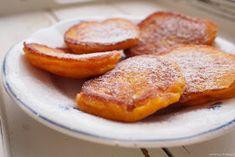 Dýňové lívanečky Sweet Cooking, Squash, French Toast, Breakfast, Recipes, Food, Mango, Posts, Sign