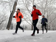 Setting a goal is the key to sticking with winter running, our Marathon Man writes