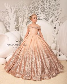 2e26ecc77d0b Untitled Blush Flower Girl Dresses, Blush Flowers, Blush Dresses, Formal  Dresses, Girls