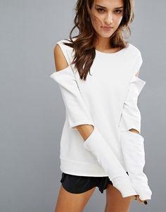 Varley Cold Shoulder & Elbow Sweatshirt