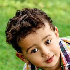 peinados para niños pequeños con cabello en rulos - Buscar con Google