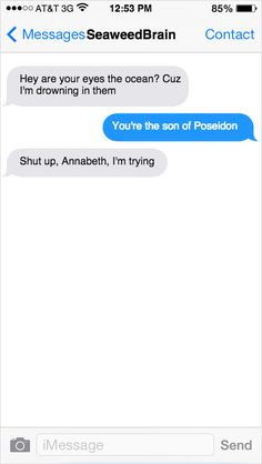 percy jackson and annabeth chase funny conversation - Google Search