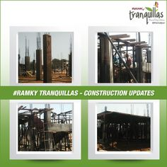 ‪#‎ConstructionUpdate‬  We are very much Excited and Feeling Happy to update ‪#‎RamkyTranquillas‬ construction progress. Committed to Quality and Promising the Future. For more info visit – www.ramkytranquillas.com