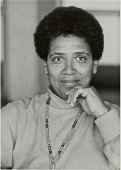 Audre Lorde - Writer, feminist, womanist, poet, and civil rights activist.
