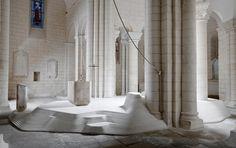 Mathieu Lehanneur   Choeur de l'Eglise Saint-Hilaire