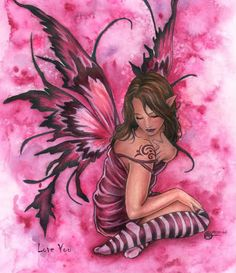fairies,angels,art,fairy,fantasy,illustration-cb1be0727cc4dd0269716549c1227899_h.jpg (401×464)