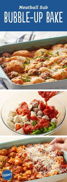 Turn a traditional meatball sub into a quick and easy, one-pan dinner the whole family will love. Your casserole dish does all the work!