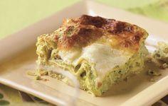 Sweet Pea and Artichoke lasagna   Bon appetit