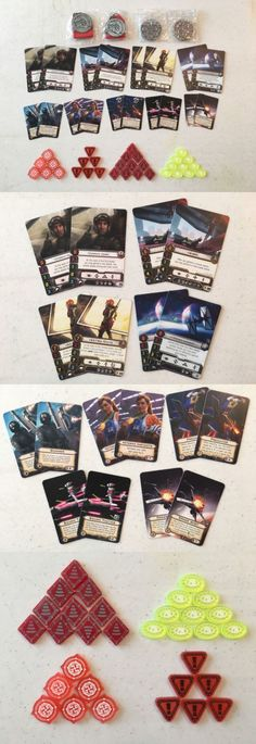 Other Star Wars Mini Games 158727: Set Of 54 Star Wars Xwing Official Ffg Alternate Art Cards And Acrylic Tokens -> BUY IT NOW ONLY: $110 on eBay!