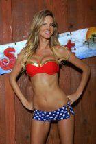 DC Comics Wonder Woman Bustier Cheeky Short Bikini Two-Piece Swimsuit