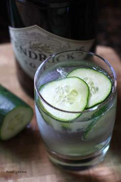 hendricks gin and tonic - a drink my character Sinclair might have in his townhouse in London. (The Stolen Chalice - Kitty Pilgrim)