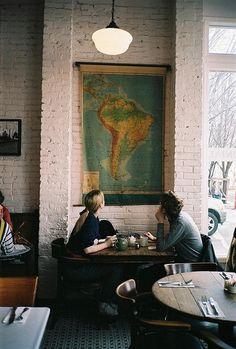 Efter stormen: Cafés con encanto / Lovely Cafeterias