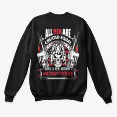 Veterans Day Gifts All Men Are Equal Products from Veterans   Teespring Great Gifts For Men, Gifts For Mom, Veterans Day Gifts, Graphic Sweatshirt, T Shirt, Sweatshirts, Products, Supreme T Shirt, Mom Presents