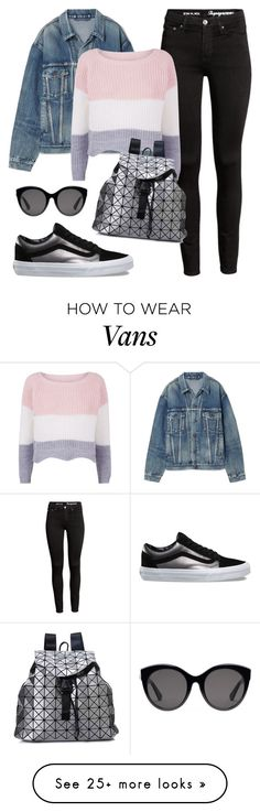 """Untitled #2863"" by cdbinwv on Polyvore featuring Balenciaga, Vans and Gucci"