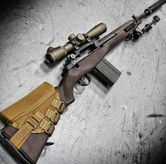 "ian-ingram: ""Tactical sniper rifle "" Want Weapons Guns, Military Weapons, Guns And Ammo, Tactical Rifles, Firearms, Sniper Rifles, Shotguns, Tactical Truck, Armas Wallpaper"