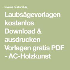 Kostenlose Laubsägevorlagen Zum Download Und Ausdrucken Fensterbild