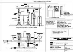 Sistema contra incendio (dwgDibujo de Autocad)
